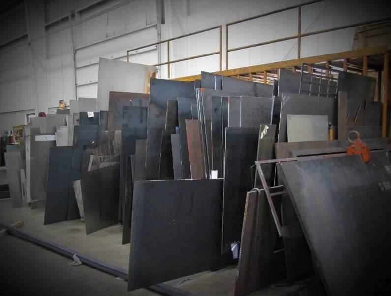 M & W Shops Material Inventory