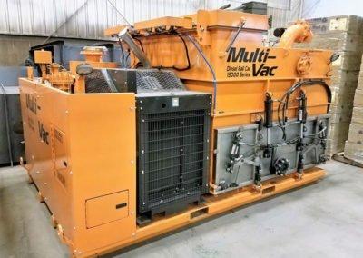 Diesel Rail Car Industrial VacuumLoader