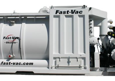 Fast-Vac SC-Series™ Self Contained IndustrialVacuum Loader Shuttle