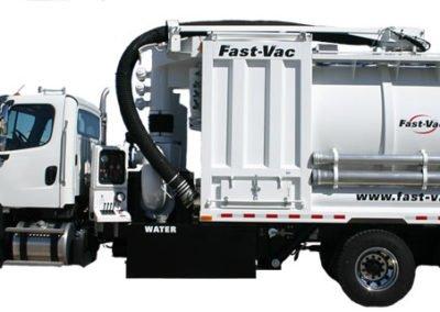 Fast-Vac H-Series™ Hydro Excavator Industrial Vacuum Loader