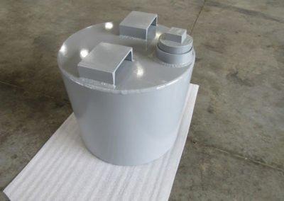 Metric Ton Mercury Storage Container