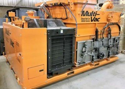 Multi-Vac Diesel Rail Car Industrial Vacuum Loader