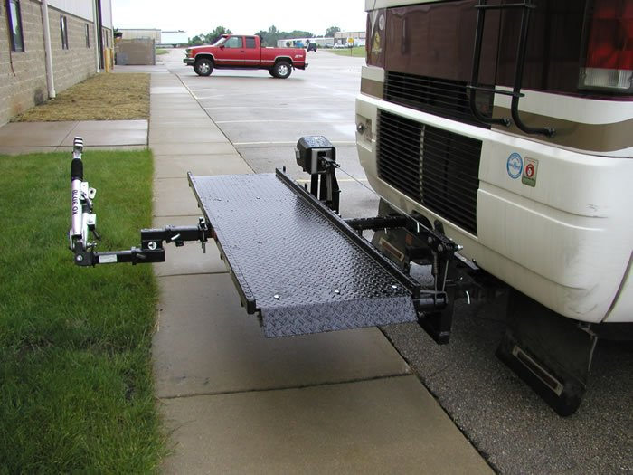 Trailer Tow Hitch Modifications